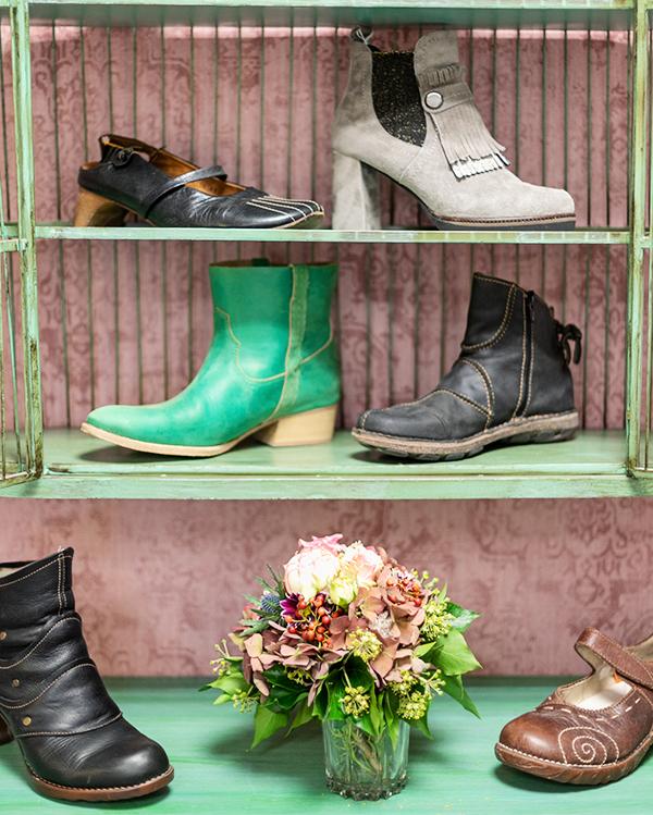 Second-Hand Schuhe